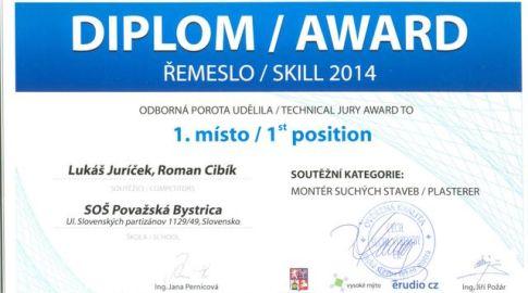 Víťazstvo na medzinárodnej súťaži v Českej republike