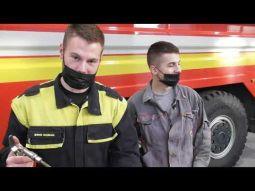 Odborná prax žiakov odboru mechanik hasičskej techniky